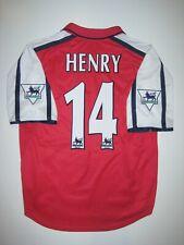 Nike 2000-2002 Arsenal FC Nike Short Sleeve Thierry Henry Jersey France Shirt