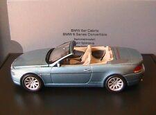 BMW SERIE 6 6ER CONVERTIBLE CABRIOLET E64 2004 ATLANTIC BLUE METAL KYOSHO 1/43