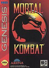 Mortal Kombat (Sega Genesis, 1993)CARTRIDGE ONLY