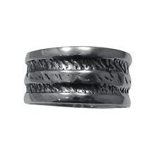 sterling argent bague Solide 925 Band r001374 Empress