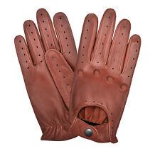 Dedos Completos Guantes De Conducción Suave Oveja Cuero Guante de vestir para hombre de estilo choferes
