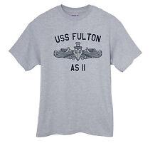 US USN Navy USS Fulton AS-11 Submarine Tender T-Shirt
