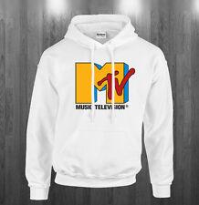 MTv retro logo Hoodie music tv fan Sweatshirts Adult Kids sizes S-3XL
