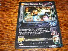 Black Shattering Knee Dragonball CCG DBZ - Foil  SP-