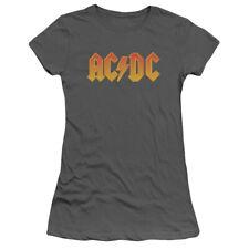 "AC/DC ""Logo"" Women's Adult or Girl's Junior Babydoll Tee"