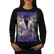 Saxophone Musician Music Women Sweatshirt NEW | Wellcoda