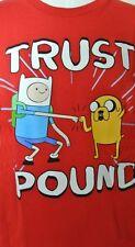Adventure Time Long Sleeve T-Shirt Size XL XXLARGE 14 16 18 20 Childs New