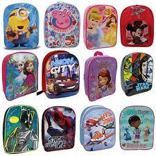Niño&Niña Disney Tv Personaje De Vuelta a Mochila escolar mochila regalo NUEVO