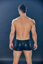 Men's Black & Erotic Extreme DUNGEON Zip Front Trunk