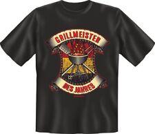 T-Shirt  Geschenk Grillmeister Grillen Kochen    Gr. S - XXL Neu 6979