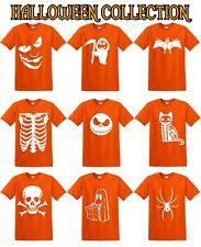 HALLOWEEN T SHIRTS COSTUME T-SHIRT Pumpkin Fancy Dress MEN WOMEN KIDS Skulls Cat