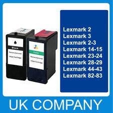 Reman Cartucho de tinta para las impresoras Lexmark