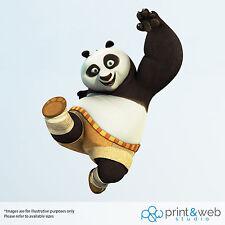 Kung Fu Panda Wall Decal Sticker Bedroom Vinyl Kids Po
