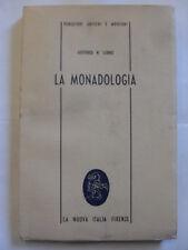 LEIBNIZ MONADOLOGIA LA NUOVA ITALIA