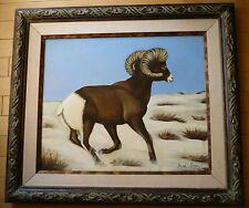 Hazel E. Olson LISTED California CA Big Horn Sheep, Desert Art Center Artist