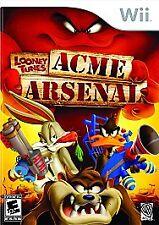 Looney Tunes: Acme Arsenal - Nintendo  Wii Game