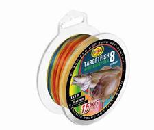 Pilk vers.Stärken 0,08€//m WFT Targetfish 8 8fach geflochtene Schnur 220m