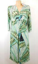 501B Manou Lenz Kleid Paisley Royal UVP99€ Sommer Kofferkleid 36 40 42 44 52
