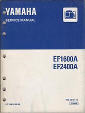 1997 YAMAHA PORTABLE GENERATOR SERVICE MANUAL
