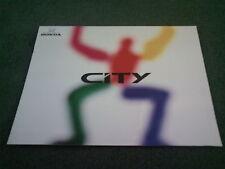 1989 Honda City 3 Puertas-japonés 12 página folleto-Civic