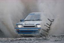 Hannu Mikkola Hand Signed Mazda Photo 12x8 1.