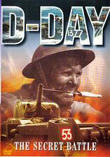 D-Day Secret Battle [DVD], Very Good DVD, ,