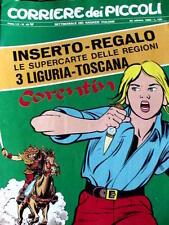 Corriere dei Piccoli 42 1968 Michel Vaillant Tribunzio Zorrykid di Jacovitti