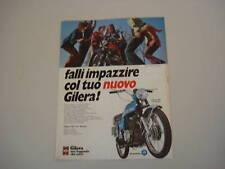advertising Pubblicità 1972 MOTO GILERA 125 5V ARCORE