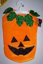 NWT Padded Pumpkin Dog Costume Choose Size XS L XL XXL Halloween Jack o Lantern