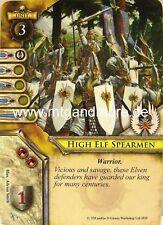 Warhammer Invasion - 2x High Elf Spearman  #004
