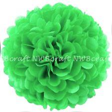 Apple Green Tissue Paper Pompoms Flower Balls Wedding Party Decoration