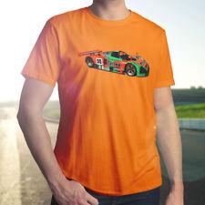 Mazda 787B 24 Hour Le Mans Wankel Rotary Race Car Sketch Mens Crew Neck T-Shirt