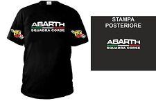 T-SHIRT ABARTH SQUADRA CORSE con loghi sulle maniche e stampa posteriore