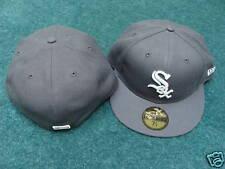 Chicago White Sox Grey Custom New Era Hat Cap 7 1/4 New