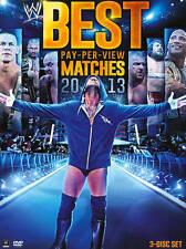 WWE: Best Pay-Per-View Matches 2013 (DVD, 2013, 3-Disc Set)