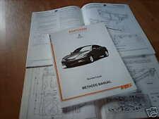 Body repair manual Hyundai Coupé
