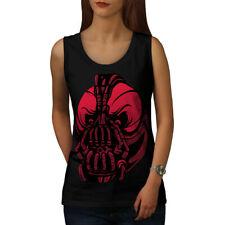 Evil Bane Máscara Comic mujeres Camiseta sin mangas Nuevo | wellcoda