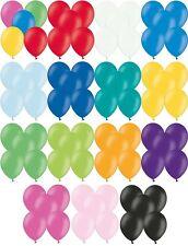 Luftballons Ø 28 cm Farbe & Stückzahl frei wählbar Ballons Helium Luftballon