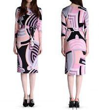MW007240 - DESIGNER MULTCOLOUR JERSEY SILK DRESS (#434)
