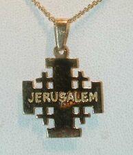 """""""JERUSALEM CROSS"""" IN 18KT YELLOW GOLD FROM JERUSALEM"""