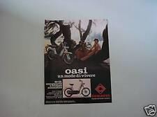advertising Pubblicità 1978 CIMATTI OASI 49 CC
