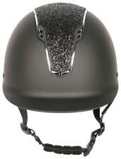 Harrys Horse Sicherheitsreithelm Centaur in schwarz und chrome, mit Glitzer