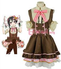 Love live Lovelive Yazawa Nico Maid lolita Candy girls Cosplay Costume dress set