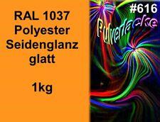 PULVERLACK Beschichtungspulver Pulverbeschichtung Lackierpulver RAL1037 Gelb