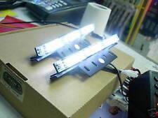 9 LED Flash Light Bar x2 Tow Truck Grille control Box Strobe White