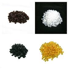 For Hair Extensions Fusion Keratin Glue Tips Rebond Granules Beads black white