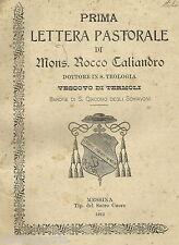 MOLISE_TERMOLI_S. GIACOMO DEGLI SCHIAVONI_ARALDICA_BARONE CALIANDRO_ORIA_SICILIA