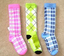 Crazy ARGYLE & PLAID SOCKS 4 Cleats Shoes 12-13-2-3-5-6
