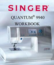 SINGER QUANTUM 9940 * Instruction & Workbook or Service / Parts manuals on CD