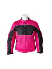 RoadDog Hurricane Mesh Motorcycle Riding Jacket Pink Women's